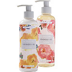 Vintage %26 Co Patterns and Petals Hand Wash %26 Lotion Set