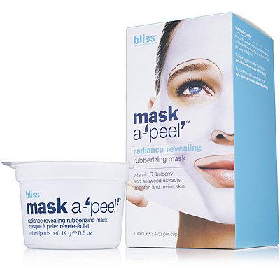 BlissMask A%27peel%27 Radiance Revealing Rubberizing Mask