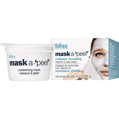 Bliss Travel Size Mask A%27peel%27 Radiance Revealing Rubberizing Mask