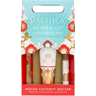 Pacifica Indian Coconut Nectar Wanderlust Set