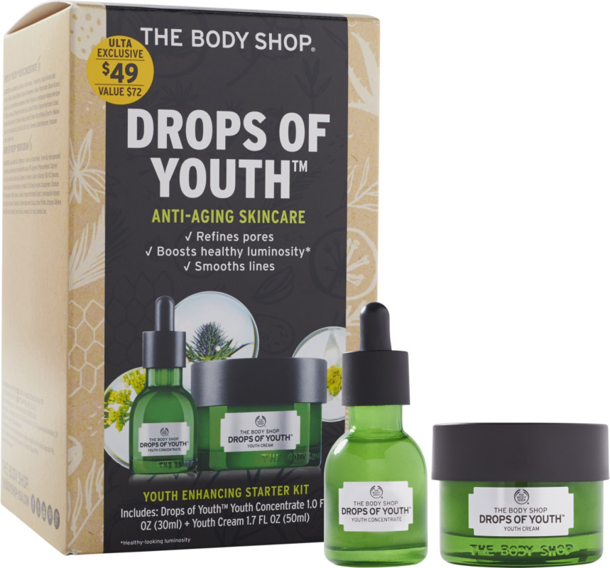 serum the body shop drops of youth