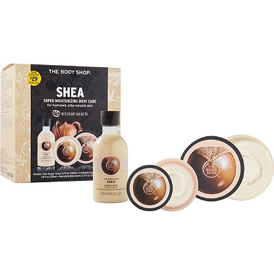 The Body Shop Shea Moisturizing Body Care Routine Kit