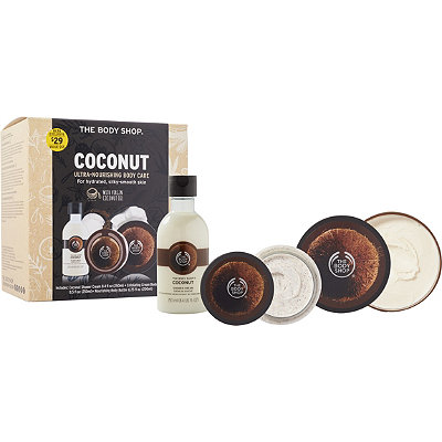 The Body Shop Coconut Ultra Nourishing Body Care Routine Kit