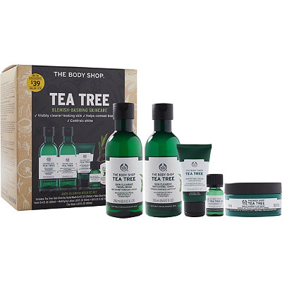 The Body Shop Online Only Tea Tree Anti-Blemish Deluxe Kit