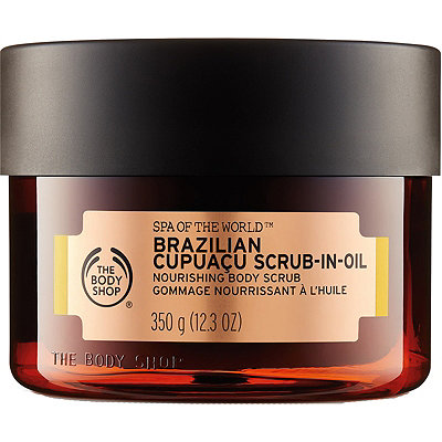 Brazilian Cupuacu Scrub-In-Oil Nourishing Body Scrub