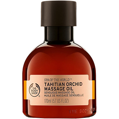 The Body Shop Spa Of The World Tahitian Orchid Massage Oil