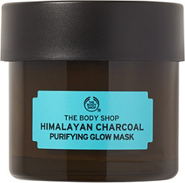 the body shop himalayan charcoal purifying glow mask ulta beauty
