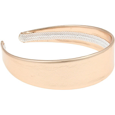 Capelli New York Metallic Rose Gold Headband