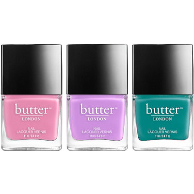 Butter London Online Only Spring Chic Lacquer Trio