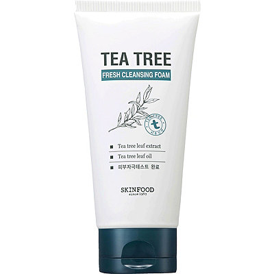Skinfood Tea Tree Fresh Cleansing Foam