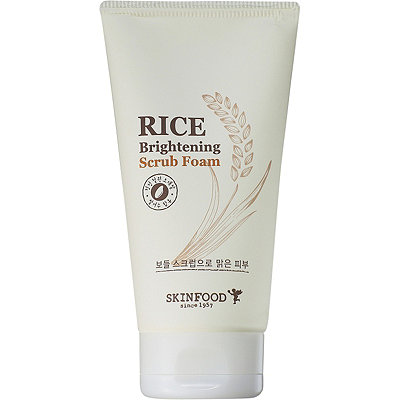 Rice Brightening Scrub Foam