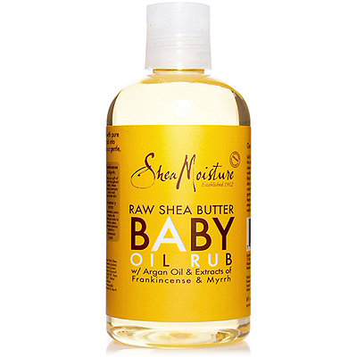 SheaMoisture Online Only Raw Shea Butter Baby Oil Rub