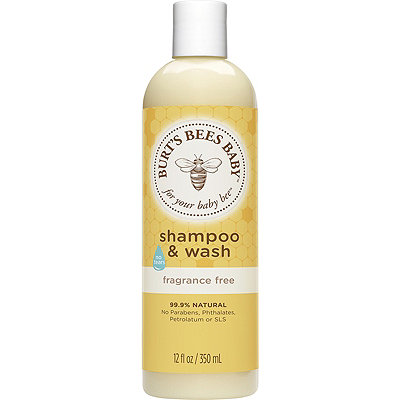 Burt's Bees Online Only Baby Bee Fragrance Free Shampoo %26 Wash