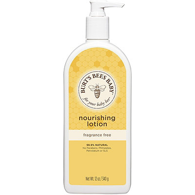 Burt's Bees Online Only Baby Bee Nourishing Fragrance Free Lotion