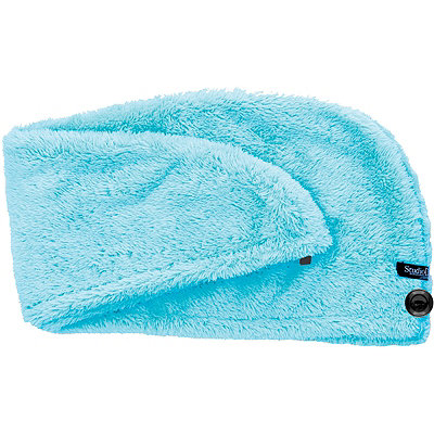 Upper Canada Studio Dry Blue Turban Hair Towel