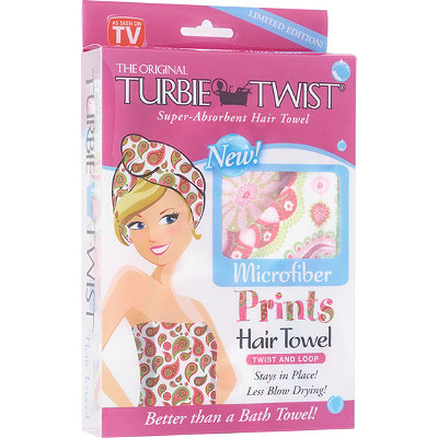 Turbie TwistThe Original Super-Absorbent Hair Towel