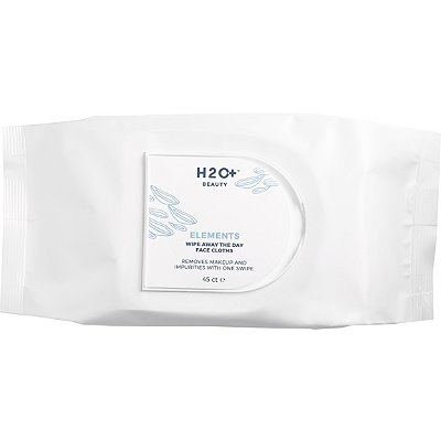 H2O Plus Elements Wipe Away Face Cloths