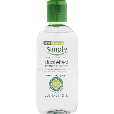 Simple Dual Effect Eye Make-up Remover