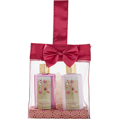 ULTANectarine Rose Satin Bow Gift Set
