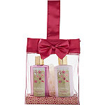Nectarine Rose Satin Bow Gift Set
