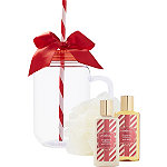 Sugared Vanilla Mason Jar Gift Set