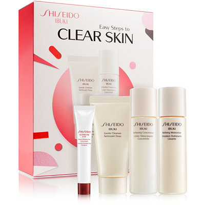 ShiseidoIbuki Easy Steps to Clear Skin Kit