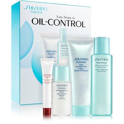 ShiseidoPureness Easy Steps to Oil-Control Kit