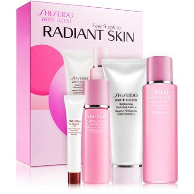 ShiseidoWhite Lucent Easy Steps to Radiant Skin Kit