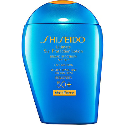 Shiseido Ultimate Sun Protection Lotion Broad Spectrum SPF 50%2B WetForce