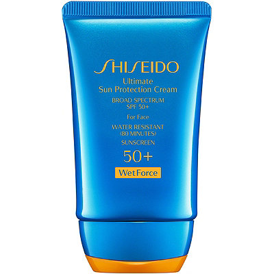 Shiseido Ultimate Sun Protection Cream Broad Spectrum SPF 50%2B WetForce