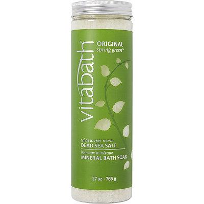 VitabathOriginal Spring Green Mineral Bath Soak