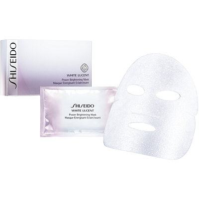 Online Only White Lucent Power Brightening Mask