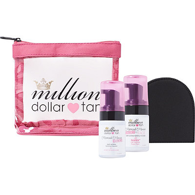 Million Dollar Tan Online Only Mermaid Mousse Extreme Mini Set