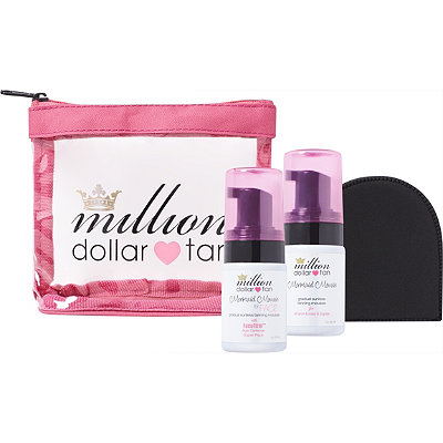 Million Dollar Tan Online Only Mermaid Mousse Mini Set