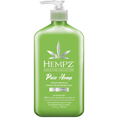 HempzLimited Edition Pure Hemp Body Moisturizer