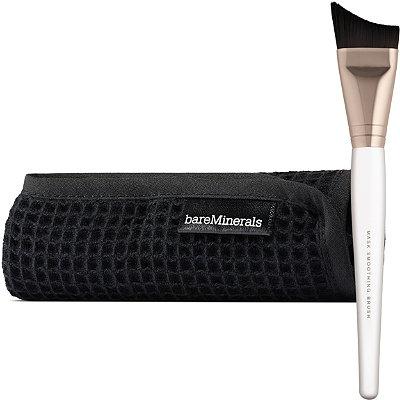 BareMineralsSkinsorials Mask Essentials Mask Smoothing Brush %26 Mask Removal Cloth
