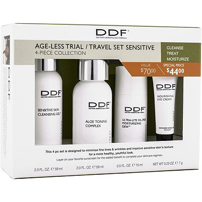 DdfOnline Only Age-less Trial / Travel Set Sensitive 4 Pc Collection