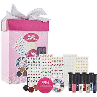 Beauty Gems 600 Piece Nail Art Kit