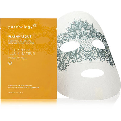 Patchology Online Only FlashMasque Illuminate Lace Single Facial Sheet