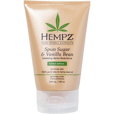 HempzLimited Edition Spun Sugar %26 Vanilla Bean Body Scrub