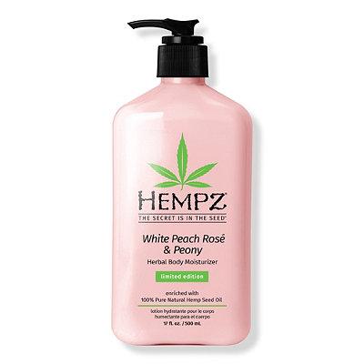 White Peach Rosé & Peony Herbal Body Moisturizer