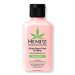 Hempz Travel Size White Peach Rosé & Peony Herbal Body Moisturizer