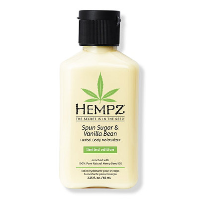 Hempz Travel Size Spun Sugar %26 Vanilla Bean Herbal Body Moisturizer