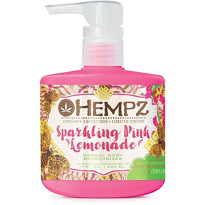 Hempz Fabulous Collection Limited Edition Sparkling Pink Lemonade Body Moisturizer