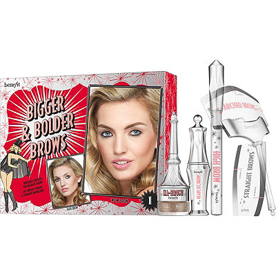 Benefit Cosmetics Bigger %26 Bolder Brows Kit Buildable - Color Kit For Dramatic Brows