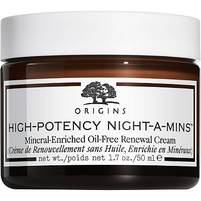 OriginsHigh-Potency Night-A-Mins Mineral-Enriched Oil-Free Renewal Cream