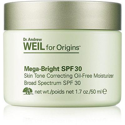 OriginsDr. Andrew WEIL for Origins Mega-Bright SPF 30 Skin Tone Correcting Oil-Free Moisturizer