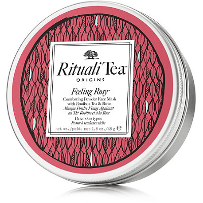 Origins RitualiTea Feeling Rosy Comforting Powder Face Mask with Rooibos Tea %26 Rose