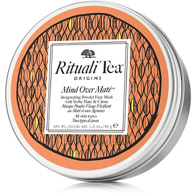 Origins RitualiTea Mind Over Mat%C3%A9 Invigorating Powder Face Mask with Yerba Mat%C3%A9 %26 Citrus