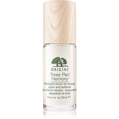 Origins Three Part Harmony Oil-Infused Serum for Renewal%2C Repair and Radiance